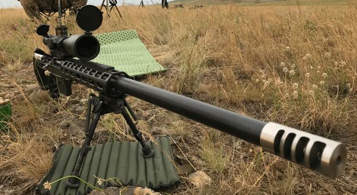 стрельба из винтовки на полигоне