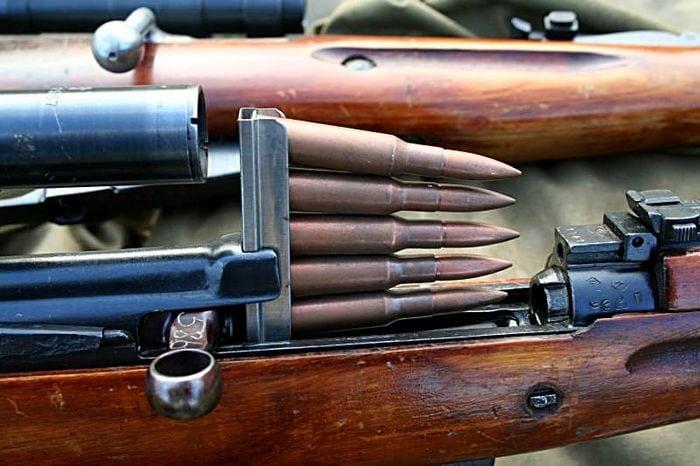 зарядка винтовки