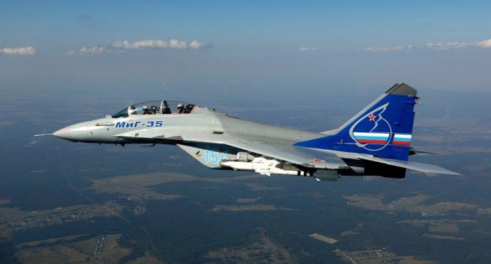 Истребитель нового поколения Миг-35