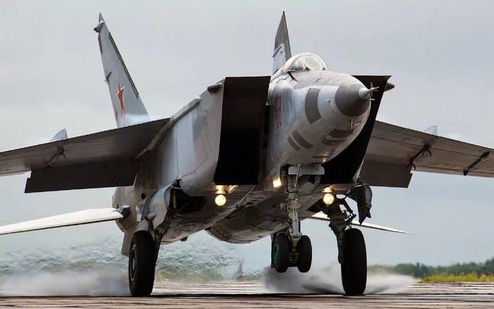 Мощь и сила Миг-25