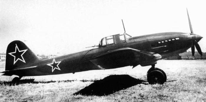 Советский штурмовик Ил-10