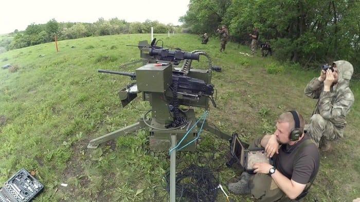 пулемёт танковый