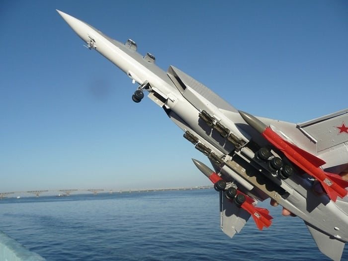 вооружение на самолёте