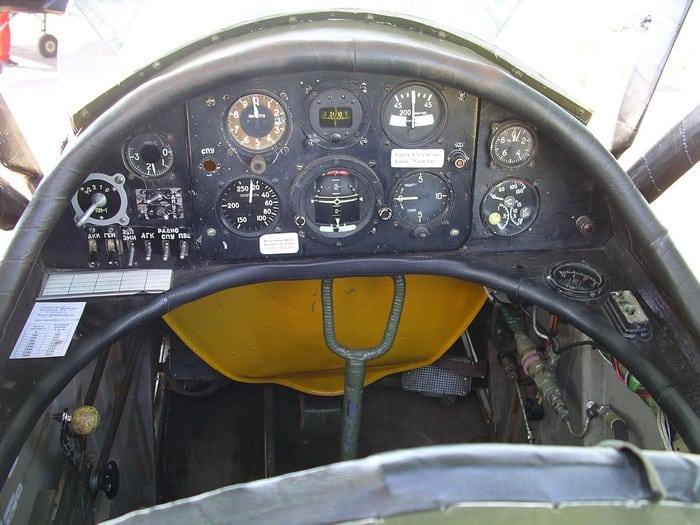 кабина самолета