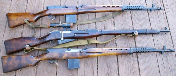 типы снайперских винтовок
