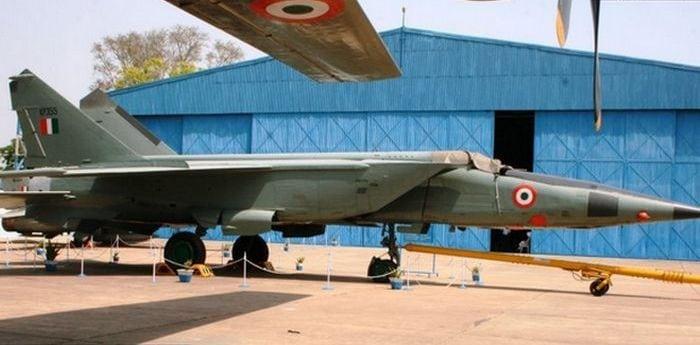 Миг-25 в Индии