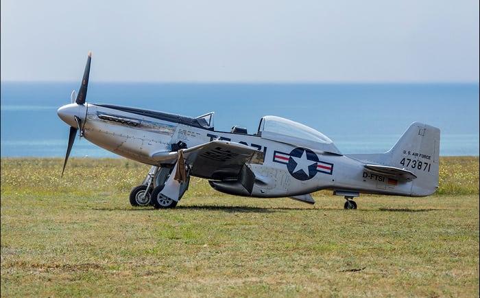 самолёт р-51