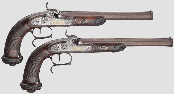 пистолеты лепажа
