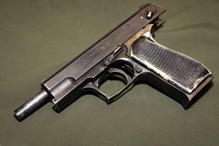 пистолет оц-27
