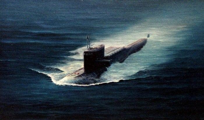 подводная лодка тип 667а