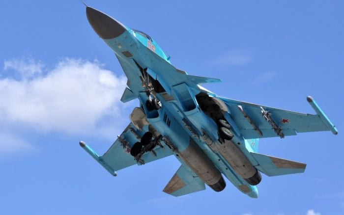 вооружение истребителя-бомбардировщика Су-34