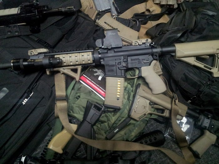 м4 и амуниция