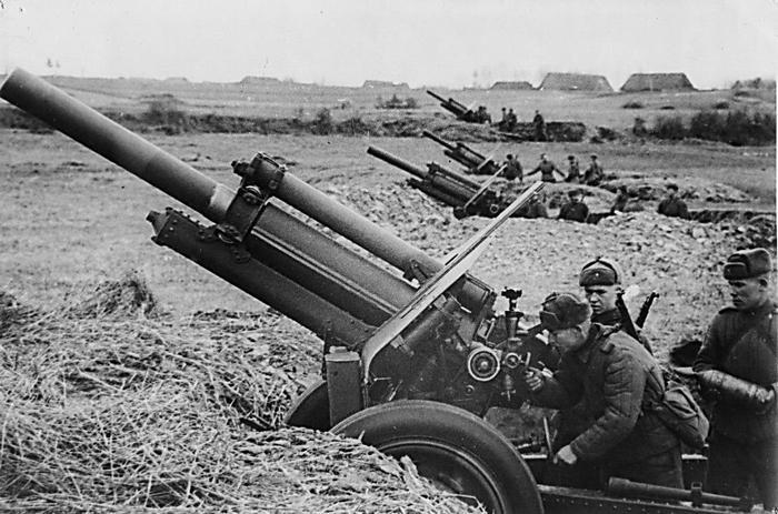 м-30 в бою