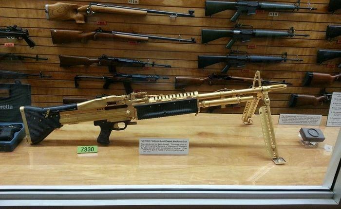 м-6 легендарный пулемёт