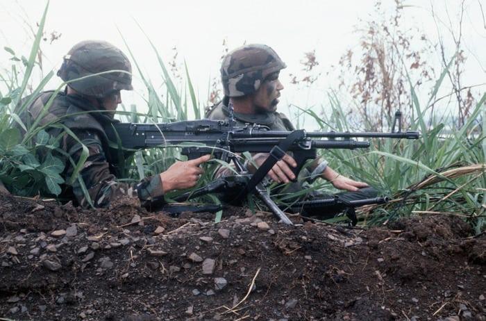 м-60 в бою