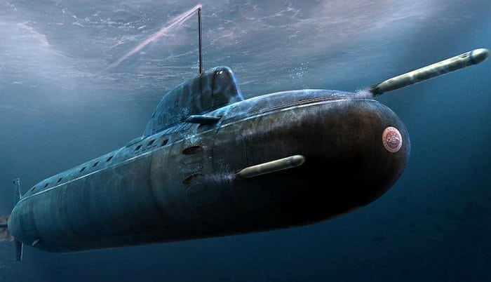 атомная подводная лодка проекта 885