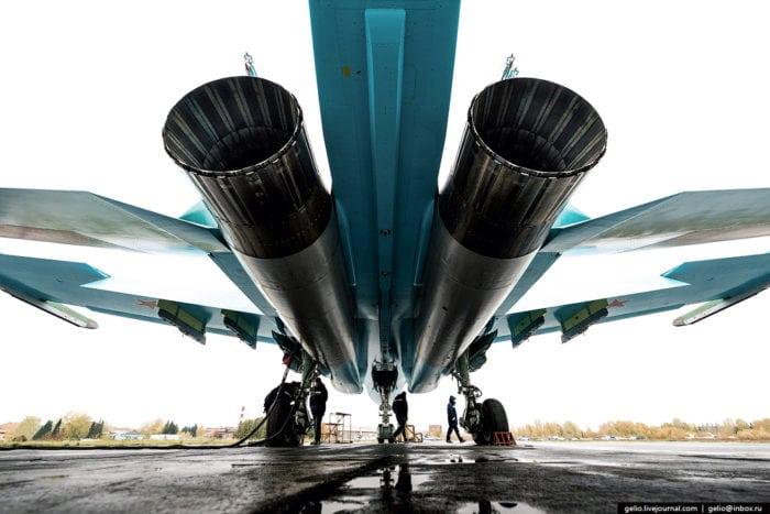 турбореакивные двигатели на СУ-34