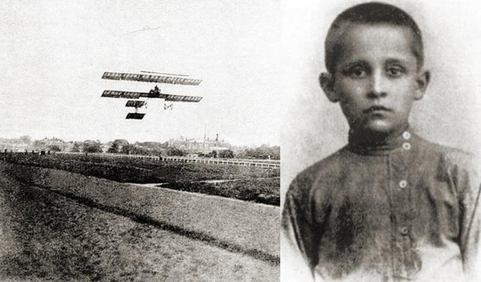 детство и мечты П.О.Сухого