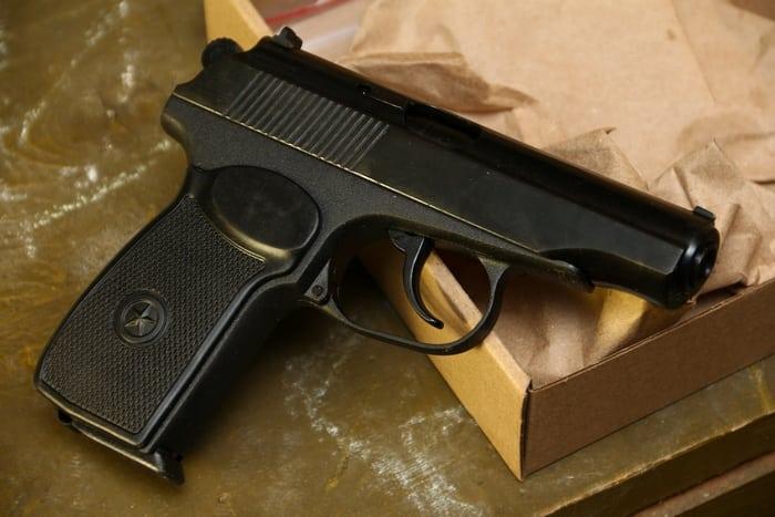 звукошумовой пистолет р-411