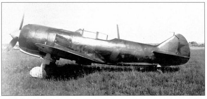 Ла-5 с двигателем М-71Ф