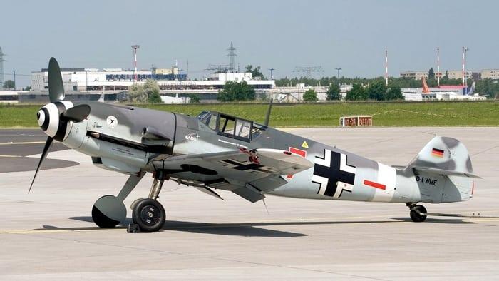 самолёт Messerschmitt Bf.109