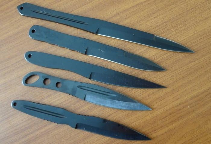 летающие ножи