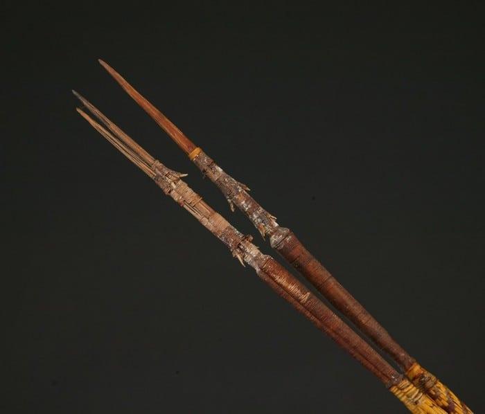 деревянные копья