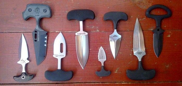 виды тычковых ножей