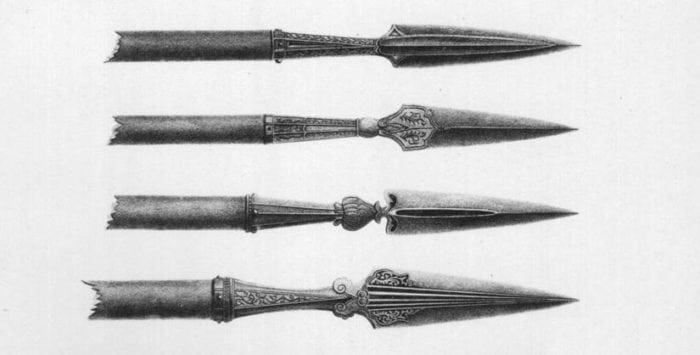 наконечники рогатины