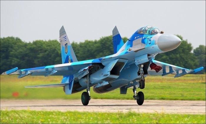 истребитель Су-27 ОКБ П.О.Сухого