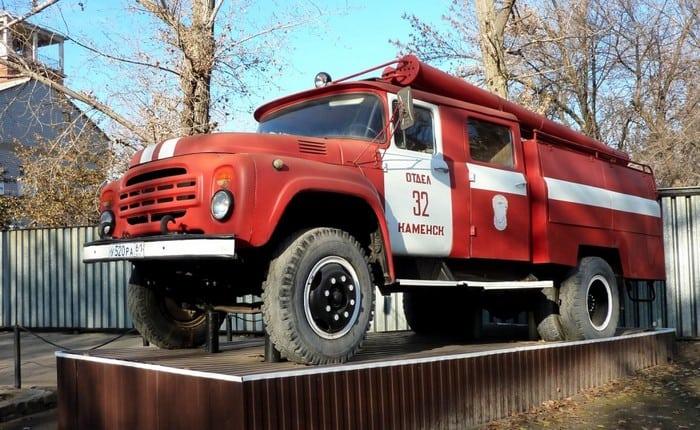 ЗИЛ 130 пожарная