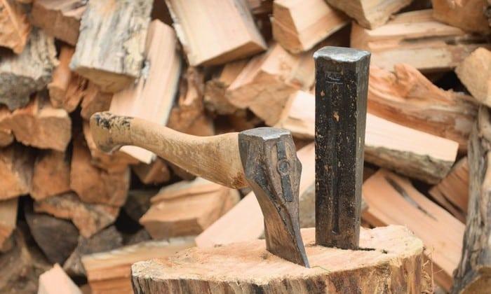 Колун для расколки дров