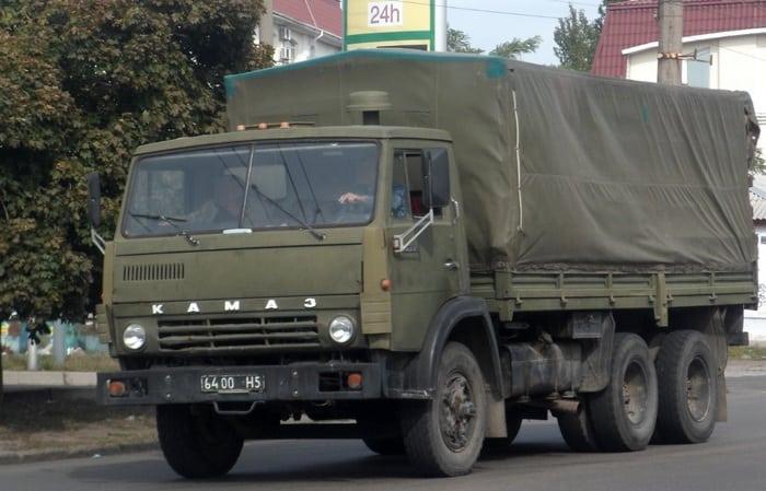 КАМАЗ 5320 тент