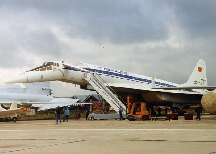 Пассажирский самолёт Ту-144Д