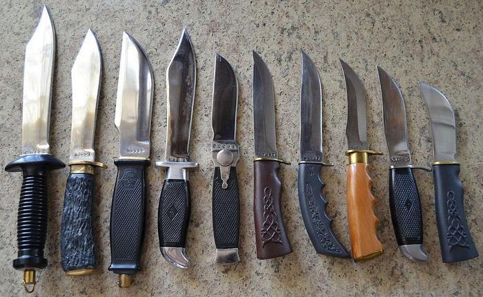охотничьи ножи выбор
