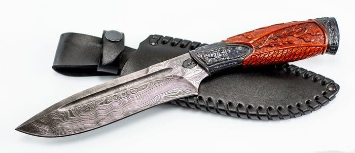 нож из домаска