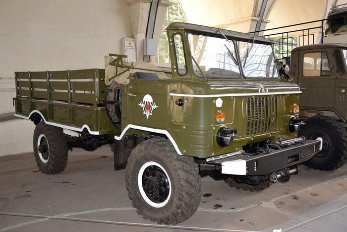ГАЗ 66Б десантные войска