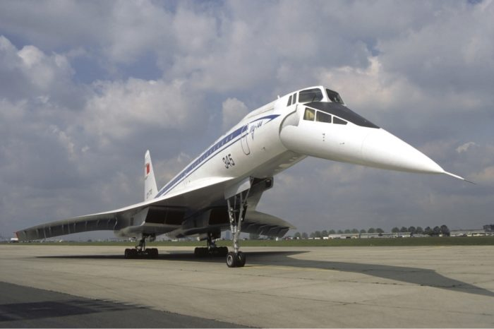 Пассажирский самолёт КБ Туполева Ту-144