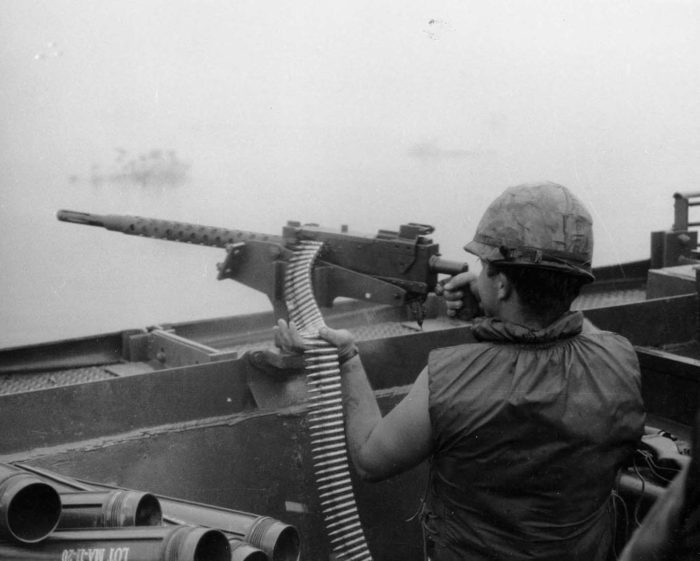 Browning_M1919 в бою
