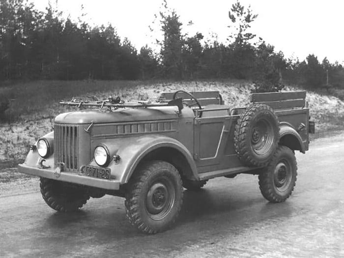 Газ-69 открытого типа