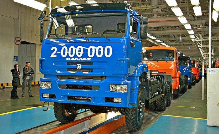 2,000,000 КАМАЗ