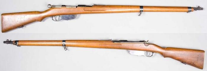Две винтовки Манлихера М1895