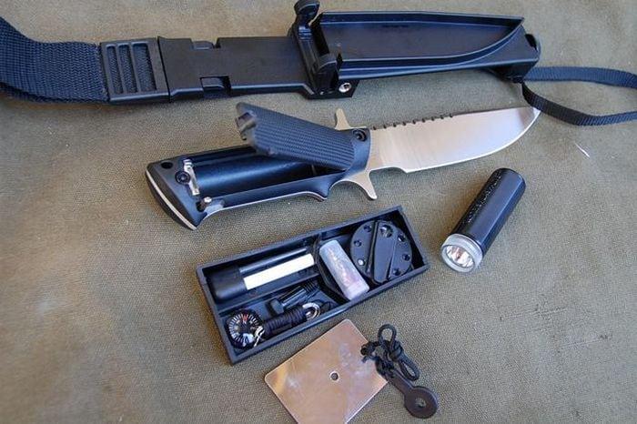 современный нож выживания