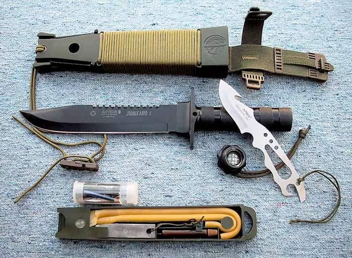 нож для выживания коплектация