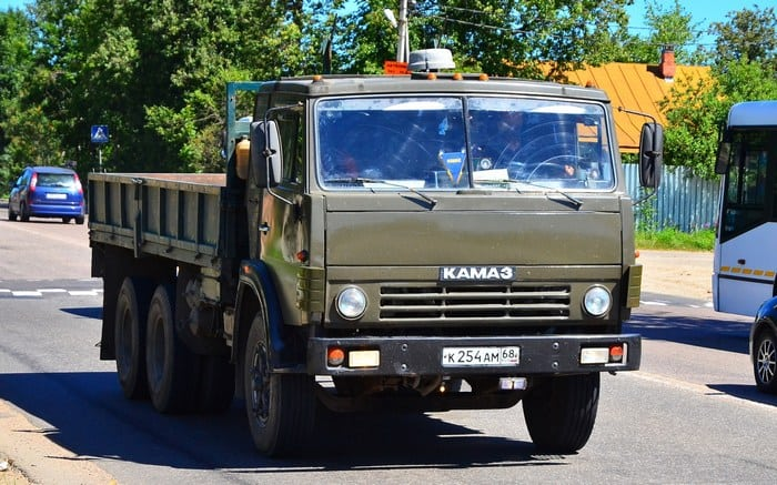 КАМАЗ 5320 бортовой