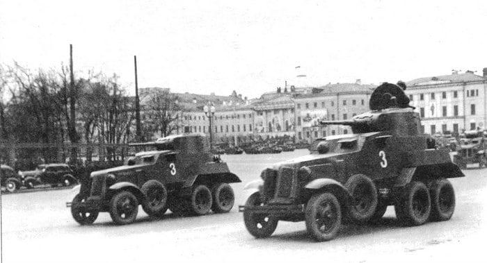 ба-10 на параде 1940