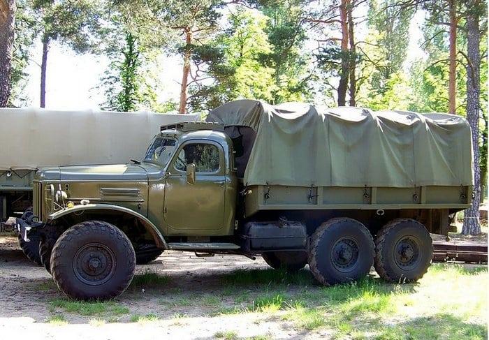 ЗИЛ-157 армейский