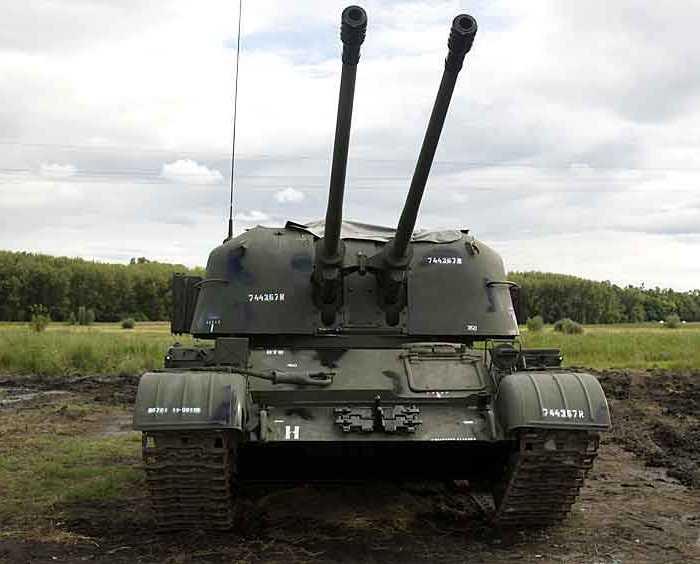 Зенитная самоходная установка ЗСУ 57-2