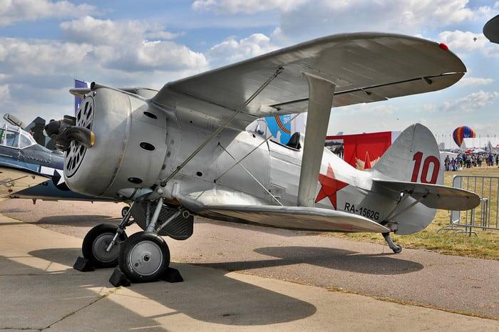 Истребитель И-153 Фото