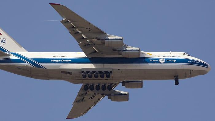 Под крылом АН-124